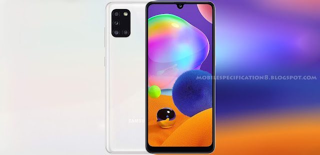 Samsung Galaxy A31, Galaxy A31, Samsung A31, Mobile, Phone, Price in Nigeria, Specifications, Specification, Specs, Features, Colours, Colors, Prism crush white