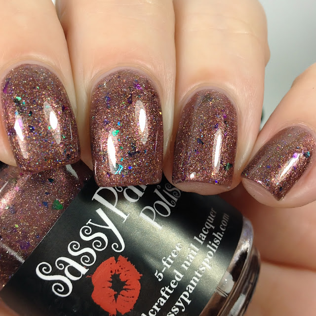 Sassy Pants Polish-Warm Cocoa