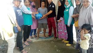Angkatan 99 Kae Bima Serahkan Bantuan Korban Banjir Dua Kecamatan Monta, dan Woha