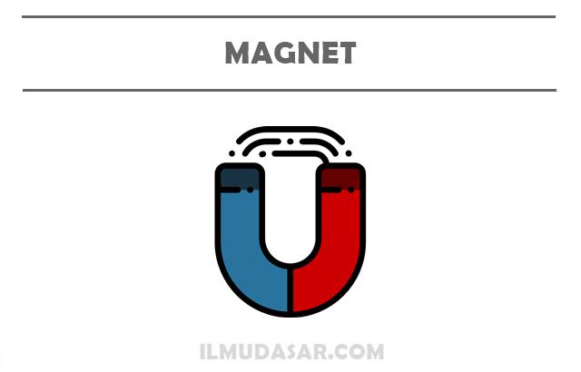 Pengertian Magnet, Sifat Magnet, Bentuk Magnet, Jenis Magnet