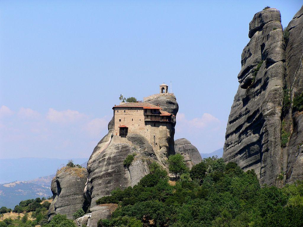 Монастырь Святого Николая Анапауса в Греции