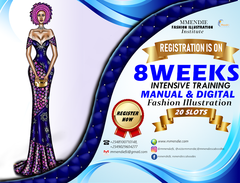 """NEW SESSION ALERT - LEARN FASHION ILLUSTRATION FOR """"8 WEEKS"""" NOW,"""