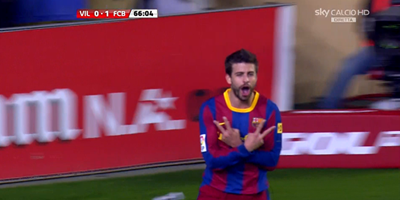 LFP-Week-30 : Villarreal 0 vs 1 Barcelona 02-04-2011