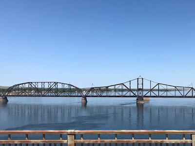 Missouri River Bridge in Pierre, South Dakota