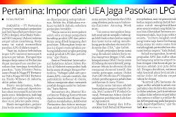 Pertamina: Imports from UAE keep LPG Supply