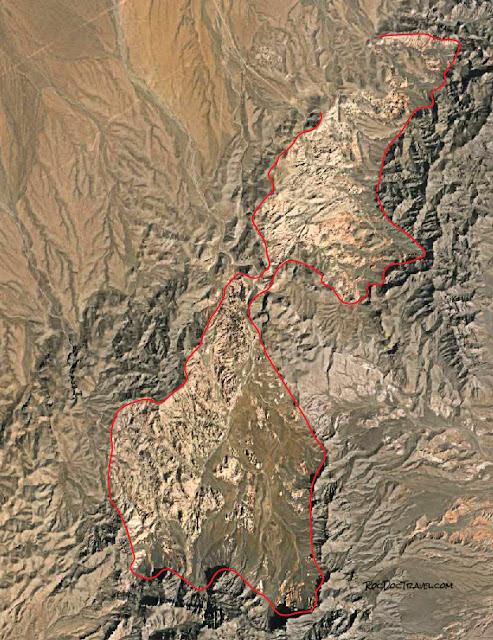 Buffington pocket Clark County Nevada Valley of Fire Muddy Mountains thrust belt Jurassic Cambrian geology travel field trip copyright rocdoctravel.com