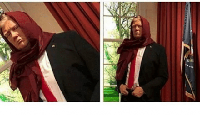 We don't have masks. Now wear a scarf. This will help to avoid Corona.Trump has finally admitted