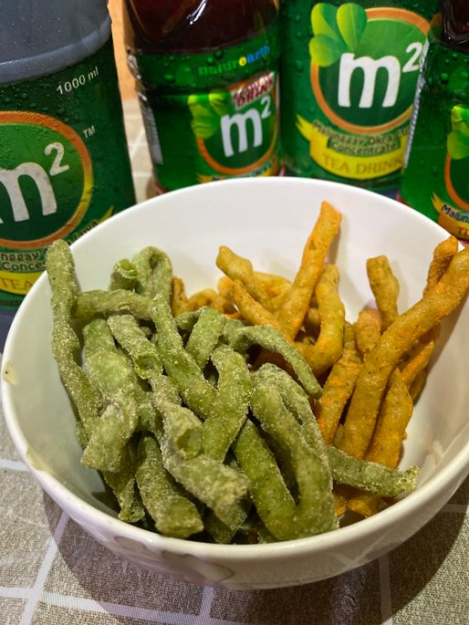 M2 Malunggay Shing-a-Ling sour cream and cheese flavors