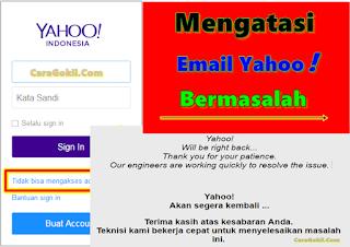 Mengatasi Email Yahoo Tidak Bisa Dibuka Dengan Mudah