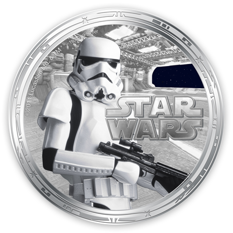 Ounces Of Silver Star Wars 1oz Silver Legal Tender Coins