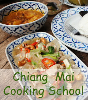 Travel the World: While in Chiang Mai Thailand take a cooking class with Chiang Mai Thai Cookery School.