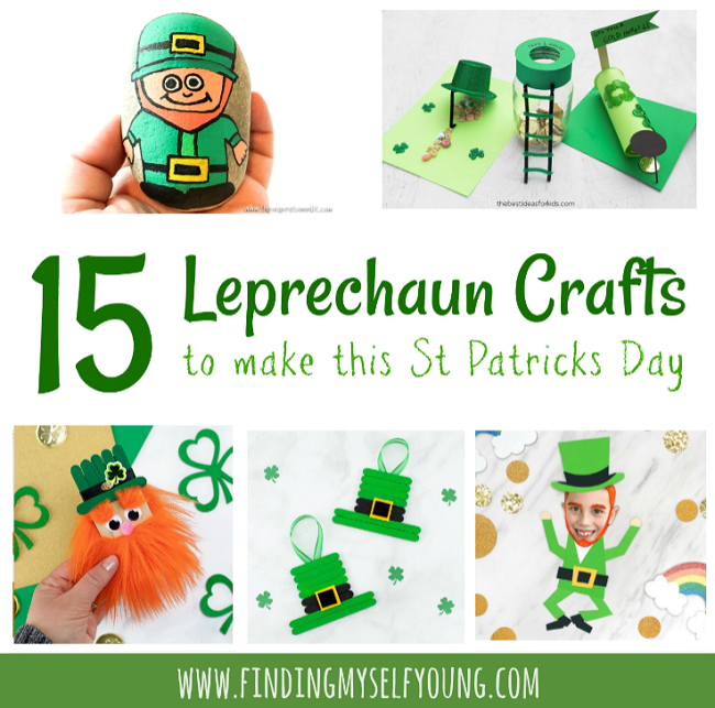 15 leprechaun crafts and activities for kids