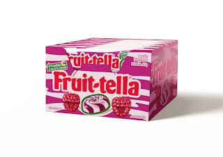 Fruittella lança sabor framboesa e creme