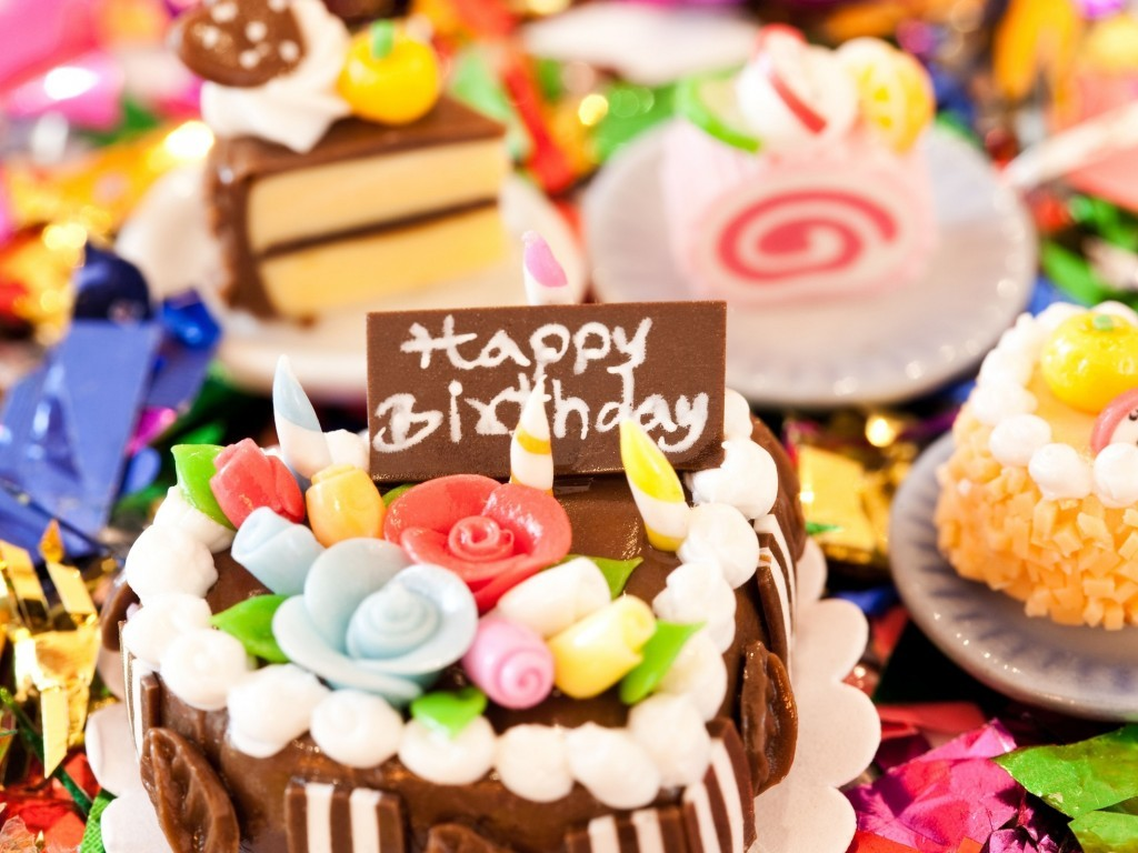 Happy Birthday Chocolate Cake With Candle Images Beautiful Birthday