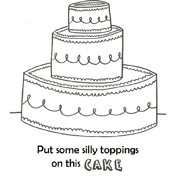 Third Grade A-B-C-D: WRITING 2: CAKE