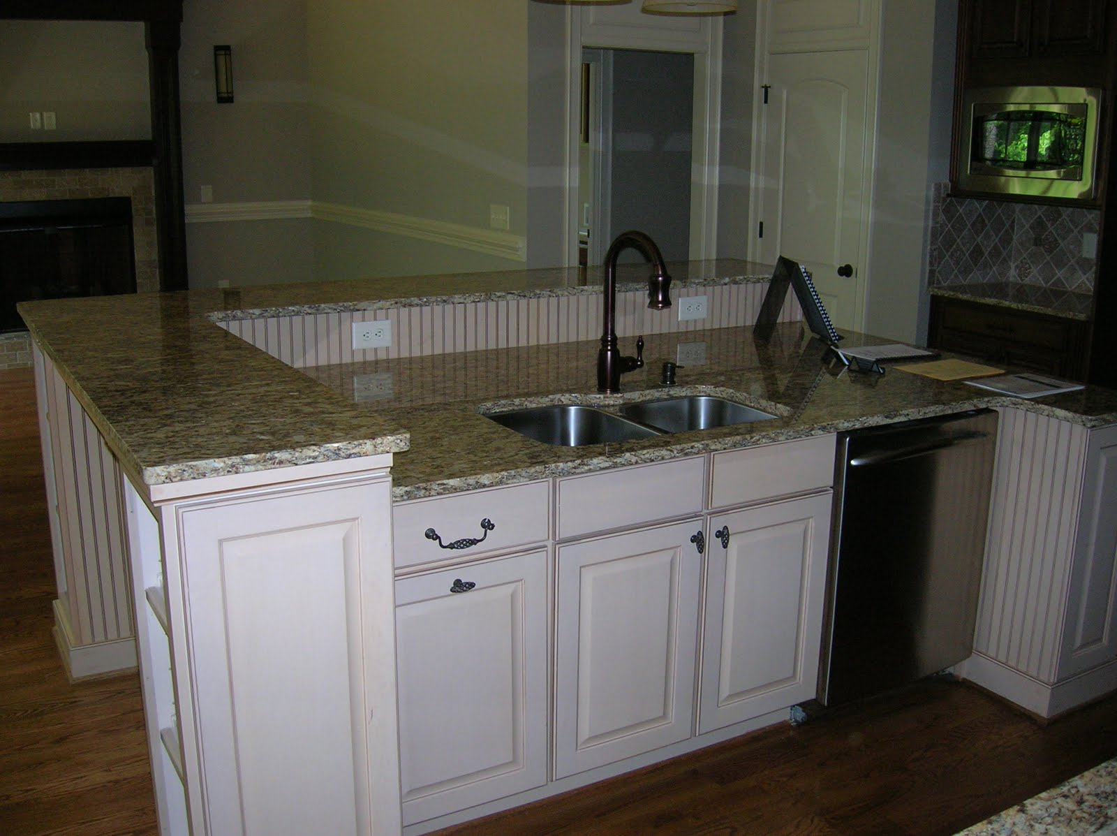 Two Tier Kitchen Island Grey Countertops Add A In Your M Andm Construction
