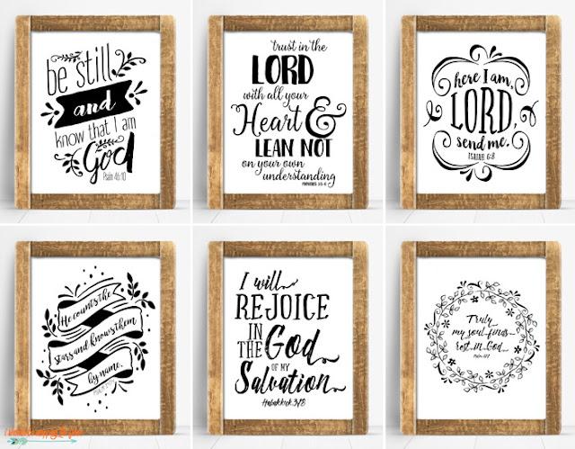 Bible Verse Printables