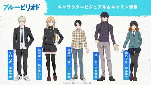 El anime Blue Period