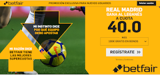 betfair supercuota Real Madrid gana a Leganes 9 enero 2019