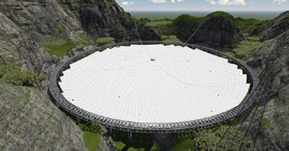 China Membangun Teleskop Terbesar Di Dunia Untuk Menemukan Alien?