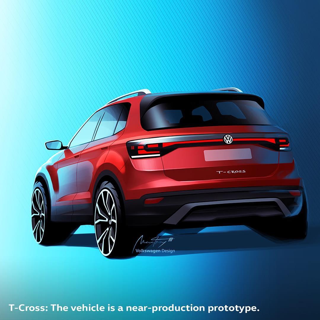 foto concept volkswagen t-cross concept
