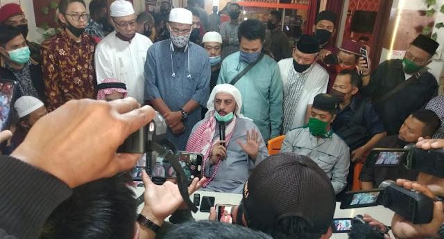 Syekh Ali Jaber : Saya Punya Kepercayaan Besar Sama Polisi, Jangan Disalahgunakan