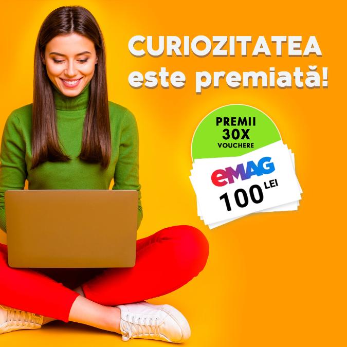 Concurs Youtil - Castiga 30 de vouchere eMag - concursuri - online - 2021