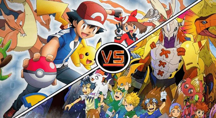 Pikachu o Agumon? Es una batalla de adorables mascotas de franquicias en el antiguo debate Pokémon vs. Digimon.