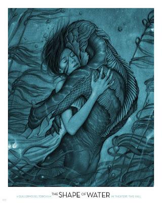 'La forma del agua' de Guillermo del Toro - Cartel