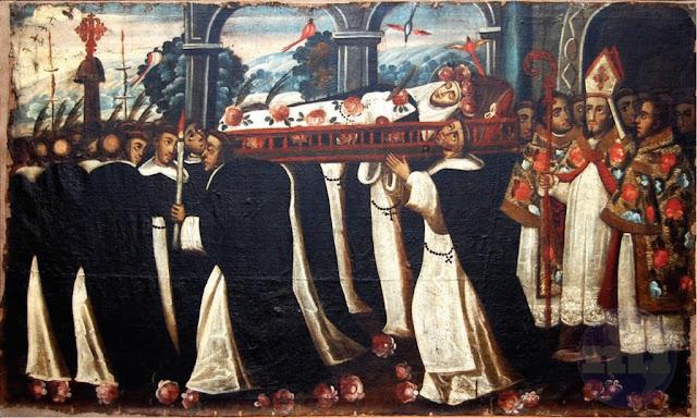 Funeral de Santa Rosa de Lima