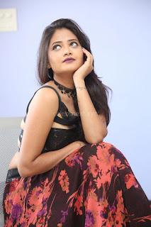 Shriya Vyas in a Tight Backless Sleeveless Crop top and Skirt 108.JPG