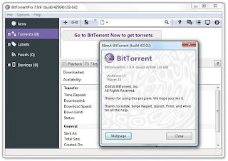 BitTorrent Pro 7.9.9 Build 42924 Stable Multilingual Portable