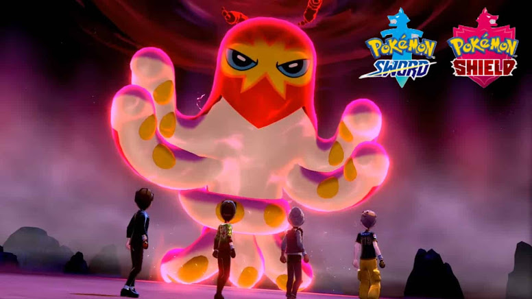 Grapploct Shiny Pokémon Sword Shield