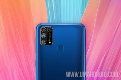 Desain Fisik Samsung Galaxy M31