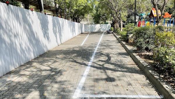 彰化市八卦山體育休閒園區 增設約80輛機車停車位