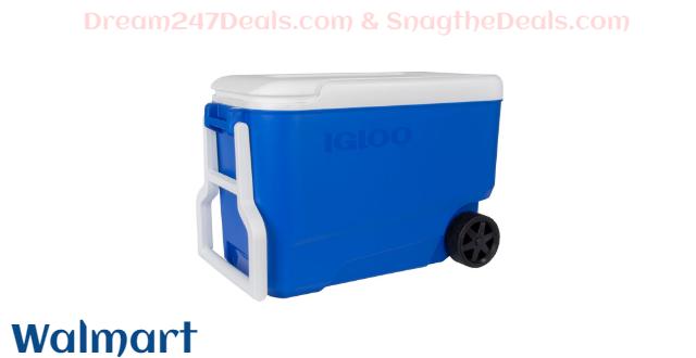 Igloo 38 Qt Wheelie Cool Cooler