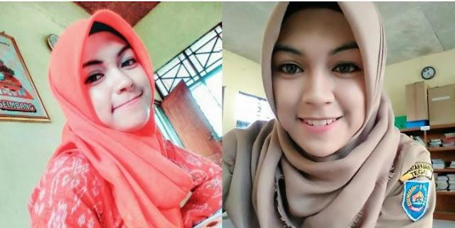 Rizma Uldiandari, Guru Cantik dari Tegal yang Rela Dibayar Rp 75.000 Per Bulan yang Gegerkan Netizen