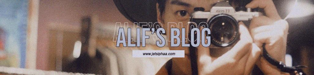alif's blog