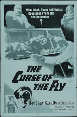 Original poster art for CURSE OF THE FLY!