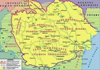 Tările Române la 1600, Unirea realizată de Mihai Viteazul