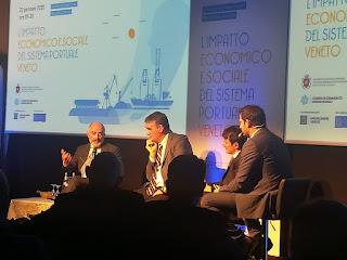 L'impatto del sistema portuale veneto nel nordest e in Italia