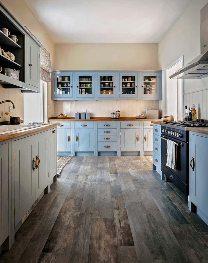 rustik anadolu mutfak dolabı tasarımları