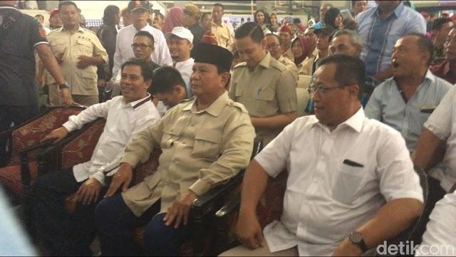 Prabowo: Elit Mau Mengakali Rakyat, Mereka Pikir Rakyat Indonesia Bisa Dibohongi