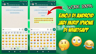 Cara Mengubah Emoji Android Menjadi Iphone Di Whatsapp