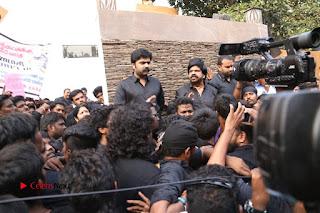 Tamil Actor Simbu (Silambarasan) Press Meet on Jallikattu Issue  0004.JPG
