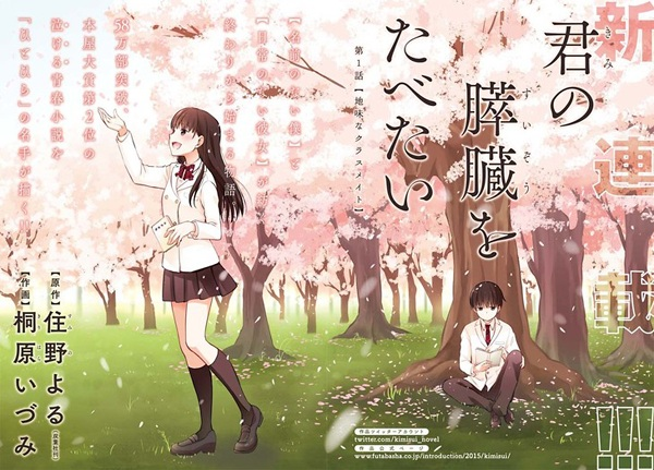 Kimi no Suizou wo Tabetai Movie Subtitle Indonesia
