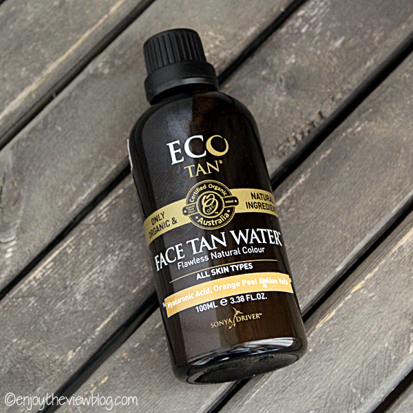 bottle of Ecotan Face Tan Water