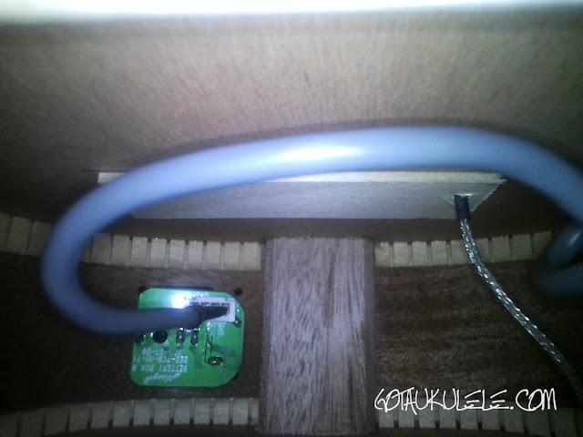 Alvarez RU22SCE Soprano Ukulele inside