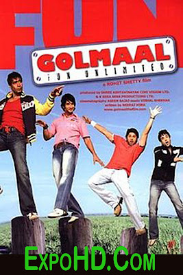 Golmaal Fun ||Unlimited Hindi || Full Comedy Movie _720p _ 1080p _ Download Now