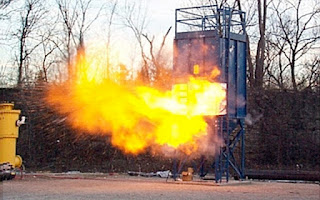 Fire and explosion testing to mitigate risk.